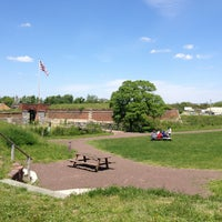 Photo taken at Fort Mifflin by Jesse R. on 5/14/2013