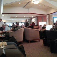 Photo taken at Delta Sky Club by Brian R. on 5/25/2013
