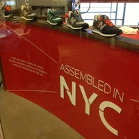 Photo taken at New Balance NYC Flagship Store by Vitaliy S. on 11/3/2012