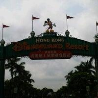 Photo taken at Hong Kong Disneyland by Roozu T. on 5/21/2013