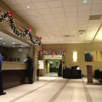 Photo taken at Hampton Inn Manhattan Times Square North by Irving S. on 12/25/2012