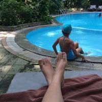 Photo taken at BaanKlangAow Beach Resort by Thitima B. on 4/16/2015