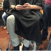 Photo taken at On The Mark Barbershop by Steve M. on 2/22/2015