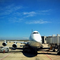 Photo taken at Shanghai Pudong International Airport (PVG) by Ryan Z. on 4/3/2013