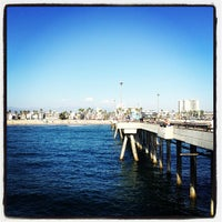 Photo taken at Venice Beach Pier by Chester S. on 9/23/2012