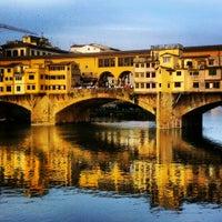 Photo taken at Ponte Vecchio by Natalia S. on 5/4/2013