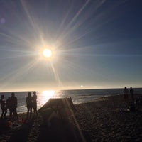 Photo taken at West Street Beach by Vincent M. on 9/30/2013
