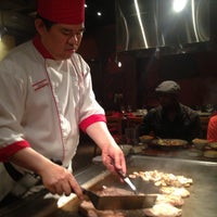 Photo taken at Benihana by Jodi on 5/12/2013