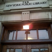 Photo taken at New York Public Library - St. George by Brian K. on 12/17/2012