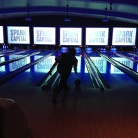Photo taken at Lucky Strike Lanes by Bijan S. on 11/15/2012