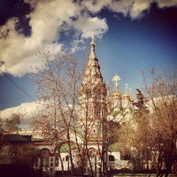 Photo taken at Храм Святителя Николая в Хамовниках by DSNT M. on 5/1/2013