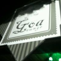 Photo taken at Goa Lounge by Tiago M. on 11/17/2012