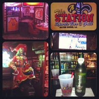 Photo taken at The Station Sports Bar and Grill by Kontinuous E. on 5/15/2013