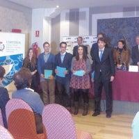 Photo taken at Hotel Felipe IV Valladolid by Javier P. on 11/27/2012