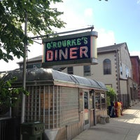 Photo taken at O'Rourke's Diner by Kendall B. on 7/4/2013