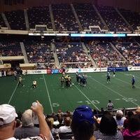 Photo taken at Richmond Coliseum by Manny M. on 7/1/2013