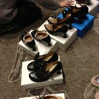 Photo taken at John Fluevog Shoes by Jim F. on 1/7/2013