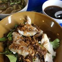 Photo taken at ข้าวต้มปลาลุงโย by MM on 2/4/2015
