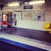 M tro passy 6 muette rue de l 39 alboni - La poste passy ...