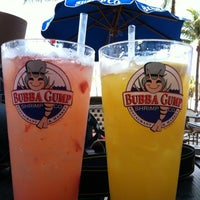 Photo taken at Bubba Gump Shrimp Co. by Carmen S. on 10/28/2012