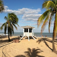 Photo taken at Fort Lauderdale Beach by Carmen S. on 10/28/2012