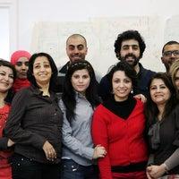 Photo taken at معهد صحافة الحرب والسلم by Sofiane C. on 4/9/2013