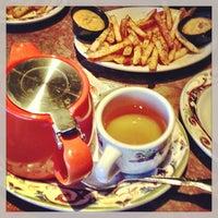 Photo taken at Paymon's Mediterranean Cafe & Hookah Lounge by JJ W. on 3/12/2013