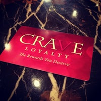 Photo taken at CRAVE Restaurant Galleria by TheSocial360 .. on 8/17/2013