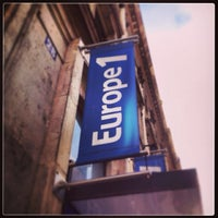 Photo taken at Europe 1 by Charlie V. on 10/24/2013