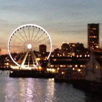 Photo taken at Seattle Ferry Terminal by Rick G. on 4/26/2013