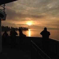 Photo taken at Bainbridge Island Ferry Terminal by Rick G. on 3/11/2013