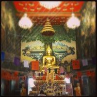 Photo taken at Wat Rai King (Wat Mongkhon Chindaram) by Norasath C. on 5/1/2013