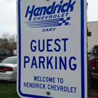 Photo taken at Hendrick Chevrolet by Ryan B. on 3/28/2014