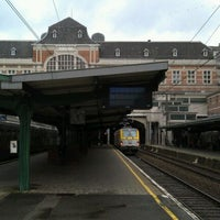 Photo taken at Gare de Verviers-Central by Bert v. on 1/8/2012