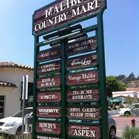 Photo taken at Malibu Country Mart by hoda007 on 8/4/2012