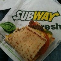 Photo taken at Subway by Jamie C. on 5/14/2012