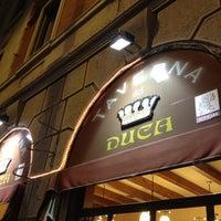 Photo taken at La Taverna Del Duca by francesco m. on 1/16/2012