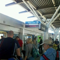 Photo taken at SFO AirTrain by Connie H. on 8/14/2011