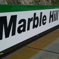 Photo taken at Metro North - Marble Hill Train Station by Chad M. on 8/19/2011
