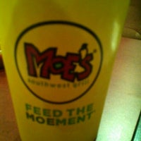 Photo taken at Moe's by Parnell L. on 6/7/2012