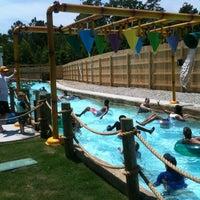 Photo taken at Ocean Breeze Waterpark by J S. on 6/10/2012