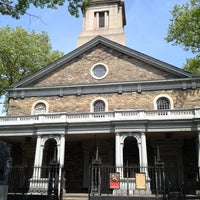 Photo taken at St. Mark's Church in the Bowery by Dunia S. on 4/21/2012