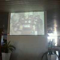 Photo taken at Strike Boliche Bar by Karla K. on 12/4/2011