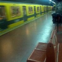Photo taken at Estacion Av. La Plata [Línea E] by Karina O. on 9/2/2012