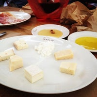 Photo taken at Birreria at Eataly by The Blonde Abroad on 6/10/2012