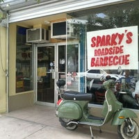 Photo taken at Sparky's Roadside BBQ by Ricky R. on 10/23/2011