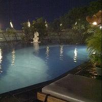 Photo taken at Teratai Swimming Pool by Dian K. on 4/11/2012