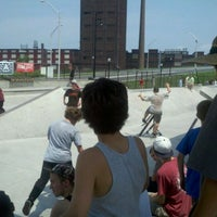 Photo taken at Bethlehem Skateplaza by Hillary K. on 5/26/2012