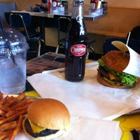 Photo taken at BGR - The Burger Joint by Colleen L. on 11/1/2011