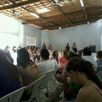Photo taken at Salão Paroquial by Liliane A. on 1/10/2012